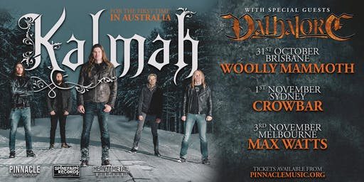 Kalmah - Brisbane (Valhalore Discount Ticket!)