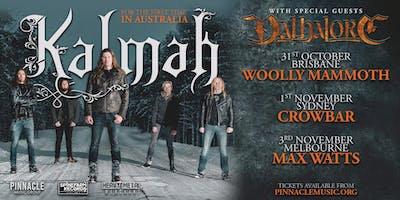 Kalmah - Melbourne (Suldusk Discount Ticket!)