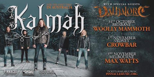 Kalmah - Melbourne (In The Burial Discount Ticket!)