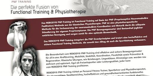 rebody PNF Training - Aus- /Fortbildung für Trainer, Physiotherapeuten & Sp