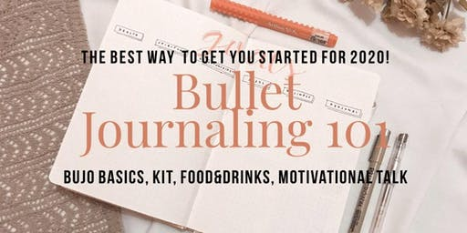 Bullet Journalling with Motivational Talk