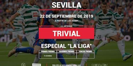 Trivial Especial La Liga en Pause&Play Metromar entradas