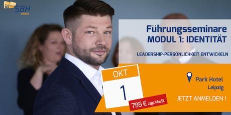 Führungskräfteseminar: Modul 1: Identität und Rollenverständnis Tickets