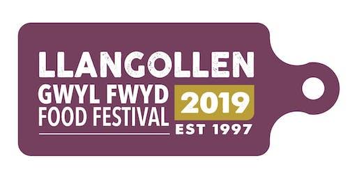 Gwyl Fwyd Llangollen Food Festival 19-20 Hyd/Oct 2019