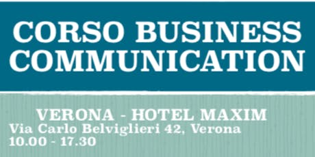 CORSO BUSINESS COMMUNICATION biglietti