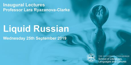 Inaugural Lecture: Liquid Russian tickets