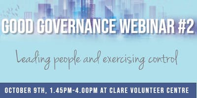 Good Governance Webinar #2