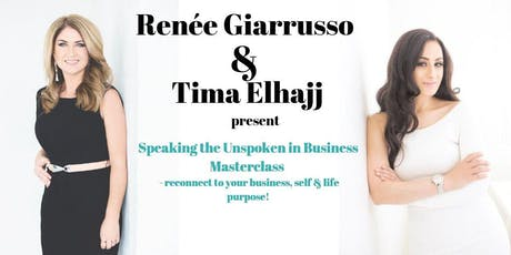 Speaking the Unspoken in Business Masterclass tickets