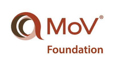 Management of Value (MoV) Foundation 2 Days Training in Southampton