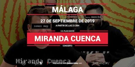 Concierto Miranda Cuenca en Pause&Play Plaza Mayor entradas