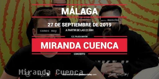 Concierto Miranda Cuenca en Pause&Play Plaza Mayor