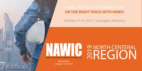NAWIC NCR Fall Conference 2019, On the Right Track with NAWIC tickets