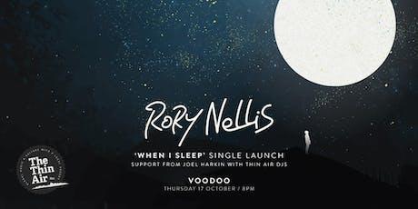 When I Sleep - Single Launch tickets