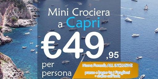 Mini Crociera a Capri [Nuova Formula ALL INCLUSIVE]