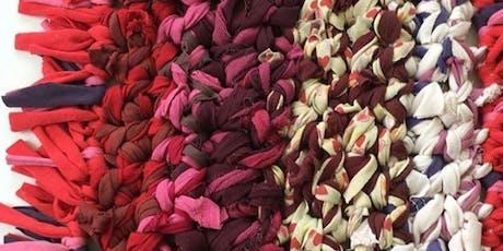 Taller de Arte Textil para NIÑOS sobre el trabajo urbano con Águeda León entradas