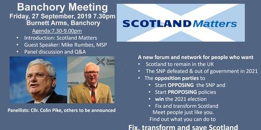 Banchory Supporter Meeting