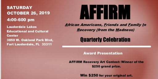 AFFIRM - $250 Contest Winner and Quarterly Gathering