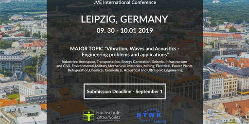 41st International JVE Engineering Conference in Leipzig, Germany