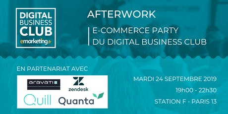 E-commerce Party billets
