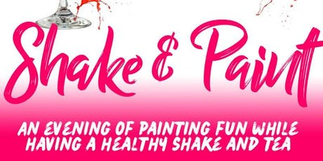 Shake and Paint tickets