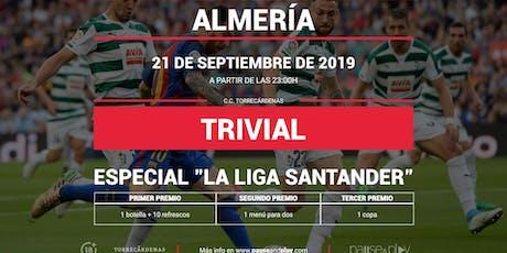 Trivial Especial La Liga en Pause&Play Torrecárdenas entradas