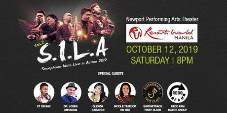 S.I.L.A. Saxophone Idols Live in Action 2019 tickets
