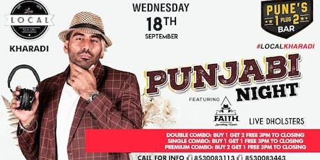 Wednesday Punjabi Night - Dj Faith tickets