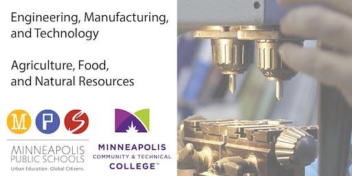 Minneapolis Career & Tech Ed - Auto, Tech, Construction, Manuf, Food & Ag