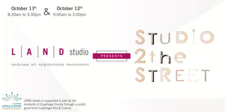 Studio to the Street - Free Public Art Workshop - October tickets