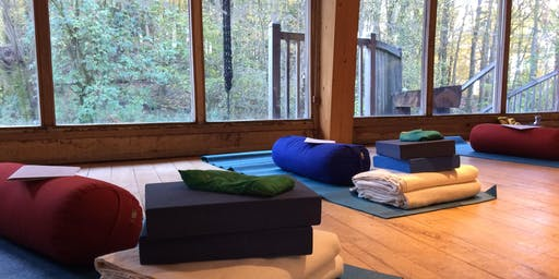 Sylva Sisters: Restorative Yoga & Campfire Baking