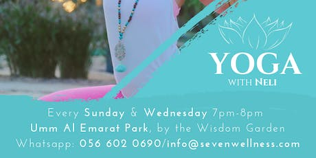 Yoga at Umm Al Emarat Park tickets