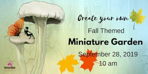 DIY Fall Mini Garden 9/28/19 @10am