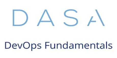 DASA – DevOps Fundamentals 3 Days Training in London tickets