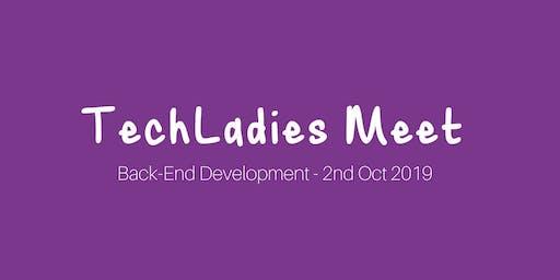 TechLadies Meet - Back-End Development