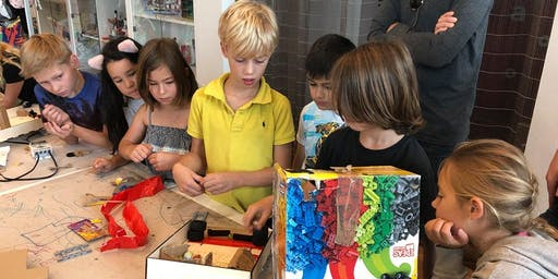 NewTechKids 2019 Fall School Vacation Computer Science & Maker Education Bootcamp for 8-12 Yrs: 5 daily workshops (October 21-25, 2019)