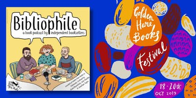 LIVE PODCAST: Bibliophile Live! Golden Hare Books' very own podcast