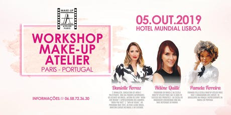 Workshop Make-Up Atelier Paris Portugal bilhetes