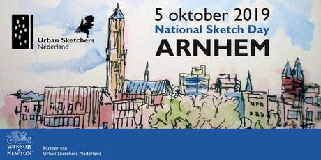 National Sketch Day Arnhem - 5 oktober 2019 - Urban Sketchers Netherlands tickets