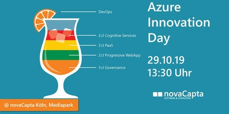 Azure Innovation Day vom 29.10.2019 Tickets