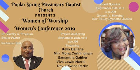 PSMBC WOW Women's Conference 2019--Women of Worship tickets