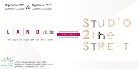 Studio to the Street - Free Public Artist Workshop - September tickets