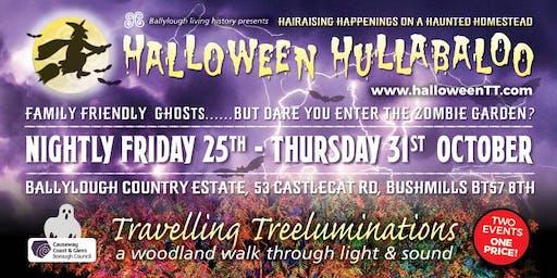 Halloween Hullabaloo & Travelling Treeluminations 2019