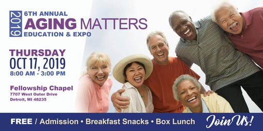 Aging Matters Education Expo - 6th Annual