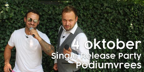 Single release party Jessie & Gerrit : PODIUMVREES (18+) tickets