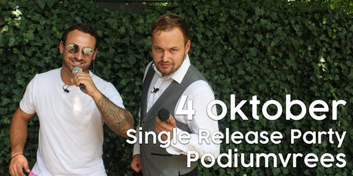Single release party Jessie & Gerrit : PODIUMVREES (18+)