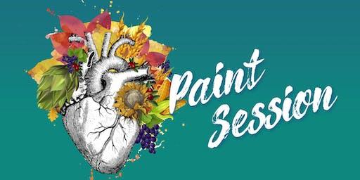 Paint Session KÖRPERWELTEN