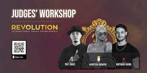 Revolution Judges Workshop 2019