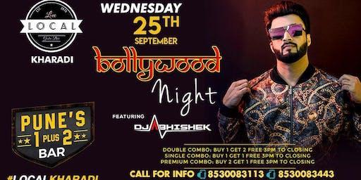 Wednesday Bollywood Night - Dj Abhishek