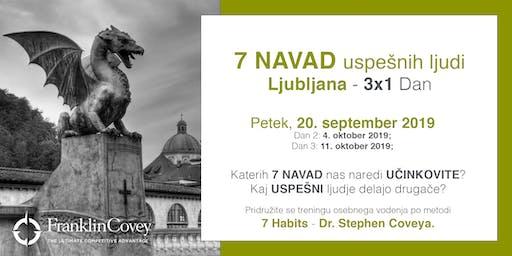7 Navad - Ljubljana - September
