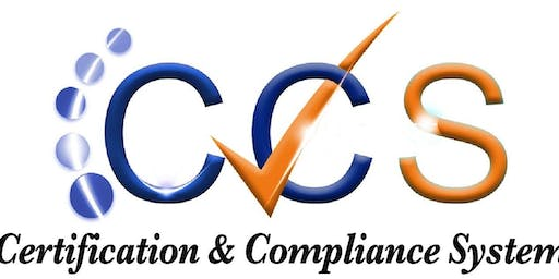 Certification & Compliance System Training for Certification